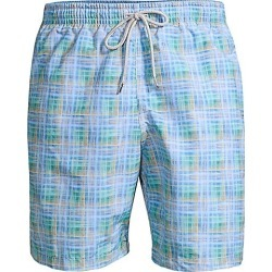 COLLECTION Plaid Swim Trunks found on MODAPINS from Saks Fifth Avenue AU for USD $70.98
