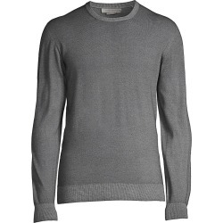 Corneliani Men's Tubular Crewneck Sweater - Light Blue - Size 52 (42) found on MODAPINS from Saks Fifth Avenue for USD $495.00