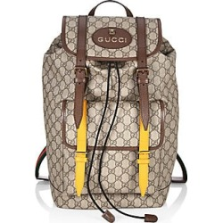 Gucci Men's GG Supreme Backpack - Beige found on MODAPINS from Saks Fifth Avenue for USD $1980.00