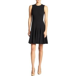 Akris Women's Double-Face Flare Dress - Black - Size 8 found on MODAPINS from Saks Fifth Avenue for USD $2990.00