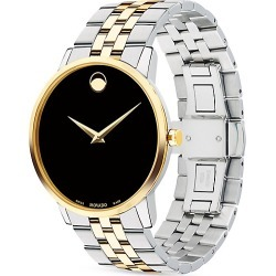 Museum Black Dial Two-Tone PVD Stainless Steel Bracelet Watch found on Bargain Bro UK from Saks Fifth Avenue UK