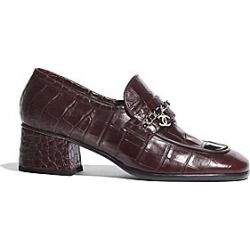 Chanel Loafers - Burgundy/B - Size 38 B found on Bargain Bro Philippines from Saks Fifth Avenue for $1150.00