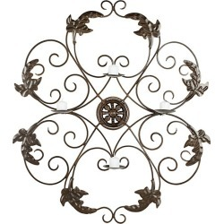 Ivy Iron Votive Wall Decor found on Bargain Bro India from Saks Fifth Avenue OFF 5TH for $115.99