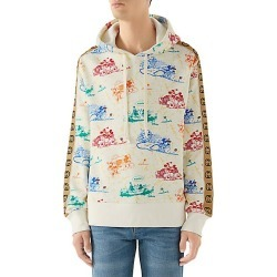 Gucci Men's Disney x Gucci Printed Cotton Sweatshirt - Ivory - Size Large found on MODAPINS from Saks Fifth Avenue for USD $1700.00