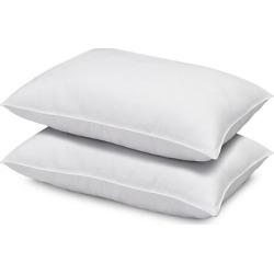 Home 2-Piece Soft Plush Gel Microfiber Stomach Sleeper Pillow Set