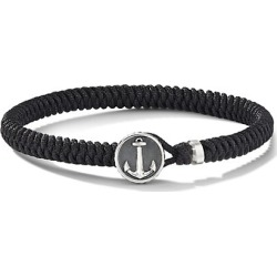 Maritime Sterling Silver & Black Nylon Anchor Station Bracelet found on Bargain Bro from Saks Fifth Avenue AU for USD $304.18