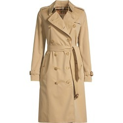 Burberry Women's Heritage Kensington Long-Length Trench Coat - Honey - Size 6 found on MODAPINS from Saks Fifth Avenue for USD $1990.00