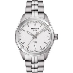 Analog PR 100 Stainless Steel and Diamond Watch found on MODAPINS from The Bay for USD $525.00