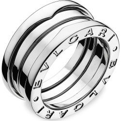 BVLGARI Women's B.zero1 18K White Gold 3-Band Ring - White Gold - Size 6.5 found on Bargain Bro Philippines from Saks Fifth Avenue for $2330.00
