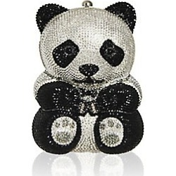 Judith Leiber Couture Women's Teddy Bear Crystal Clutch - Jet found on MODAPINS from Saks Fifth Avenue for USD $4995.00