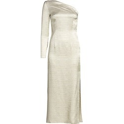 Adriana Iglesias Women's Linda One-Shoulder Snakeskin-Print Cocktail Dress - Natural - Size 42 (10) found on MODAPINS from Saks Fifth Avenue for USD $700.00