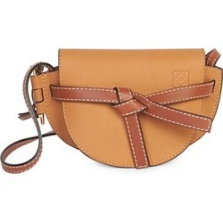 Loewe Women's Mini Gate Leather Saddle Bag - Light Caramel found on Bargain Bro Philippines from Saks Fifth Avenue for $1350.00