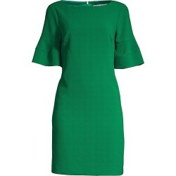 Trina Turk Women's Sojourn Bell Cuff Shift Dress - Emerald - Size 6 found on Bargain Bro India from Saks Fifth Avenue for $103.20