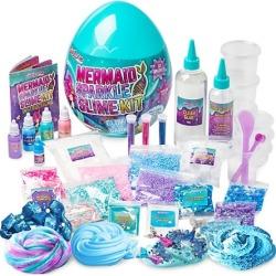 Egg Surprise Mermaid Sparkle Slime Kit