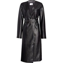 Each X Other Women's Vegan Leather Wrap Dress - Black - Size XS found on MODAPINS from Saks Fifth Avenue for USD $190.79