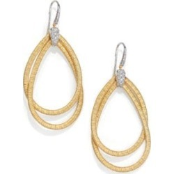 Cairo Diamond & 18K Yellow Gold Large Double Teardrop Earrings found on Bargain Bro India from Saks Fifth Avenue Canada for $2960.12