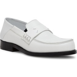 Maison Margiela Women's Camden Leather Loafers - White - Size 8.5 found on MODAPINS from Saks Fifth Avenue for USD $990.00