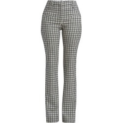 Altuzarra Women's Serge Plaid Trousers - Black White - Size 42 (10) found on MODAPINS from Saks Fifth Avenue for USD $268.50