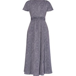 Erdem Women's Fraser Paisley Midi Dress - Navy - Size 16 found on Bargain Bro from Saks Fifth Avenue for USD $1,159.00