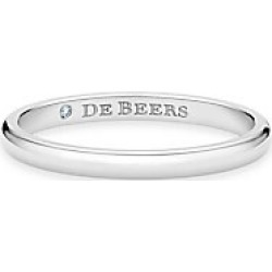 De Beers Women's Classic Platinum Forever Wedding Band - Platinum - Size 6.5 found on Bargain Bro India from Saks Fifth Avenue for $950.00