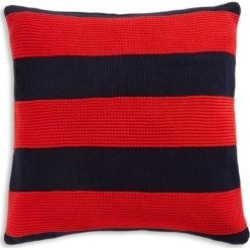 Rue Jacob Bold Striped Cotton Pillow