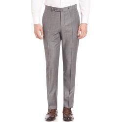 Incotex Men's Benson Sharkskin Dress Pants - Light Grey - Size 42 found on MODAPINS from Saks Fifth Avenue for USD $105.59