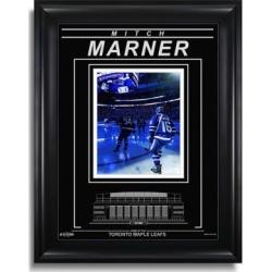 Photographie encadrée Limited-Edition avec gravure, Mitch Marner des Maple Leafs de Toronto, cérémonie d'ouverture