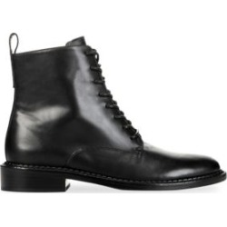 Cabria Leather Combat Boots found on Bargain Bro India from Saks Fifth Avenue Canada for $412.21