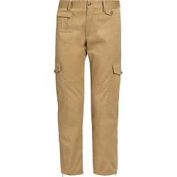 Dolce & Gabbana Women's Khaki Cropped Utility Pants - Brown - Size 46 (10)