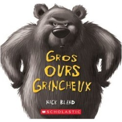 Gros Ours grincheux Book (French Version)