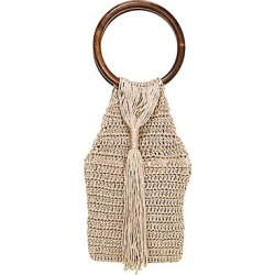 All Things Mochi Women's Kai Crochet Top Handle Bag - Beige found on MODAPINS from Saks Fifth Avenue for USD $315.00