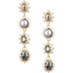 7MM Grey Freshwater Pearl Georgian Linear Drop Post Earring found on Bargain Bro Philippines from Saks Fifth Avenue Canada for $304.69