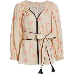Bardot Tied Heart Blouse found on Bargain Bro from Saks Fifth Avenue Canada for USD $472.83