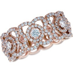 De Beers Jewellers Enchanted Lotus 18K Pink Gold & Diamond Band found on Bargain Bro Philippines from Saks Fifth Avenue for $5900.00