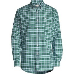 Barbour Men's Tailored-Fit Highland Check 22 Cotton Shirt - Green - Size XXL found on MODAPINS from Saks Fifth Avenue for USD $62.47