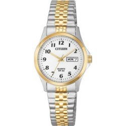 Analog EQ2004-95A Two-Tone Stainless Steel Bracelet Watch found on MODAPINS from The Bay for USD $175.00