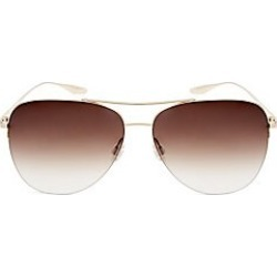 Barton Perreira Men's Chevalier 62MM Aviator Sunglasses - Gold found on MODAPINS from Saks Fifth Avenue for USD $445.00