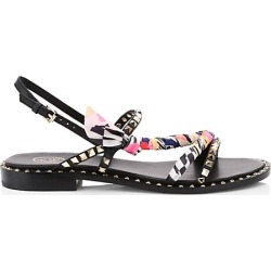 Ash Women's Pasha Studded Leather Slingback Sandals - Black - Size 36 (6) found on MODAPINS from Saks Fifth Avenue for USD $220.00