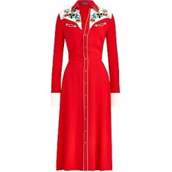 Ralph Lauren Collection Women's Billie Cowboy Beaded Shirtdress - Red - Size 4 found on Bargain Bro India from Saks Fifth Avenue for $2990.00