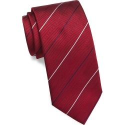Brioni Men's Diagonal Stripe Silk Tie - Red found on MODAPINS from Saks Fifth Avenue for USD $260.00