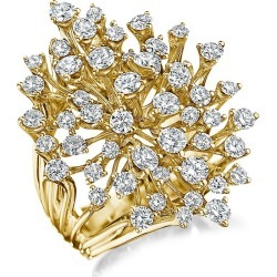 Hueb Women's Luminus 18K Yellow Gold & Diamond Statement Ring - Gold - Size 7 found on Bargain Bro from Saks Fifth Avenue for USD $13,452.00