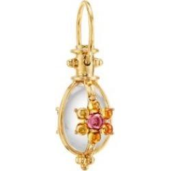 Celestial 18K Yellow Gold & Multi-Stone Mini Stella Amulet