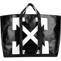 Off-White Women's New Commercial Tote - Black White found on MODAPINS from Saks Fifth Avenue for USD $275.00