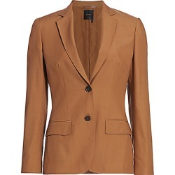Agnona Women's Wool Single Breasted Jacket - Vicuna - Size 46 (10) found on MODAPINS from Saks Fifth Avenue for USD $2390.00