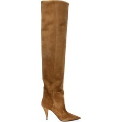 Saint Laurent Women's Kiki Over-The-Knee Suede Boots - Tan - Size 36.5 (6.5) found on Bargain Bro Philippines from Saks Fifth Avenue for $1695.00