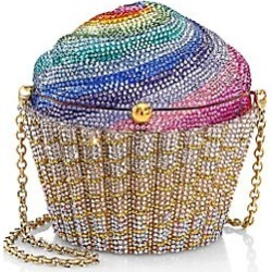 Judith Leiber Couture Women's Rainbow Cupcake Crystal Clutch - Gold Multi found on MODAPINS from Saks Fifth Avenue for USD $4495.00