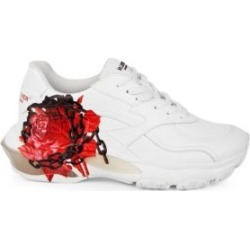 Valentino Garavani Undercover Bounce Flower Print Chunky Sneakers found on Bargain Bro Philippines from Saks Fifth Avenue AU for $380.69