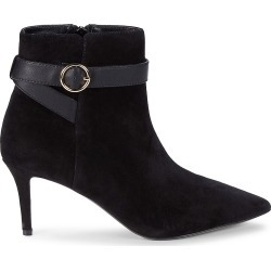 Saks Fifth Avenue Women's Luella Suede Booties - Black - Size 6 found on Bargain Bro Philippines from Saks Fifth Avenue OFF 5TH for $59.99