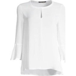 Shia Bell Sleeve Silk Blouse found on Bargain Bro UK from Saks Fifth Avenue UK