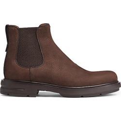 Ermenegildo Zegna Men's Verona Leather Chelsea Boots - Dark Brown - Size 7 EU (8 US) found on MODAPINS from Saks Fifth Avenue for USD $730.00